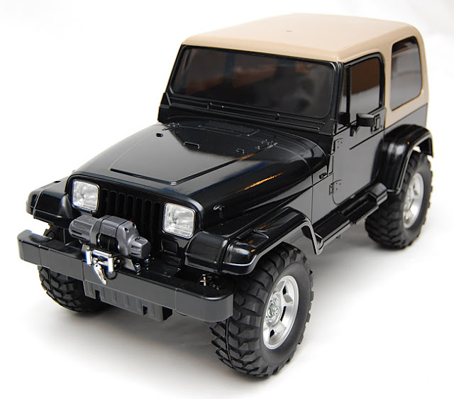 Tamiya Jeep Wrangler body custom paint