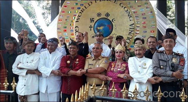 Gong Perdamaian Terbesar di Dunia Harus Jadi Wisata Internasional