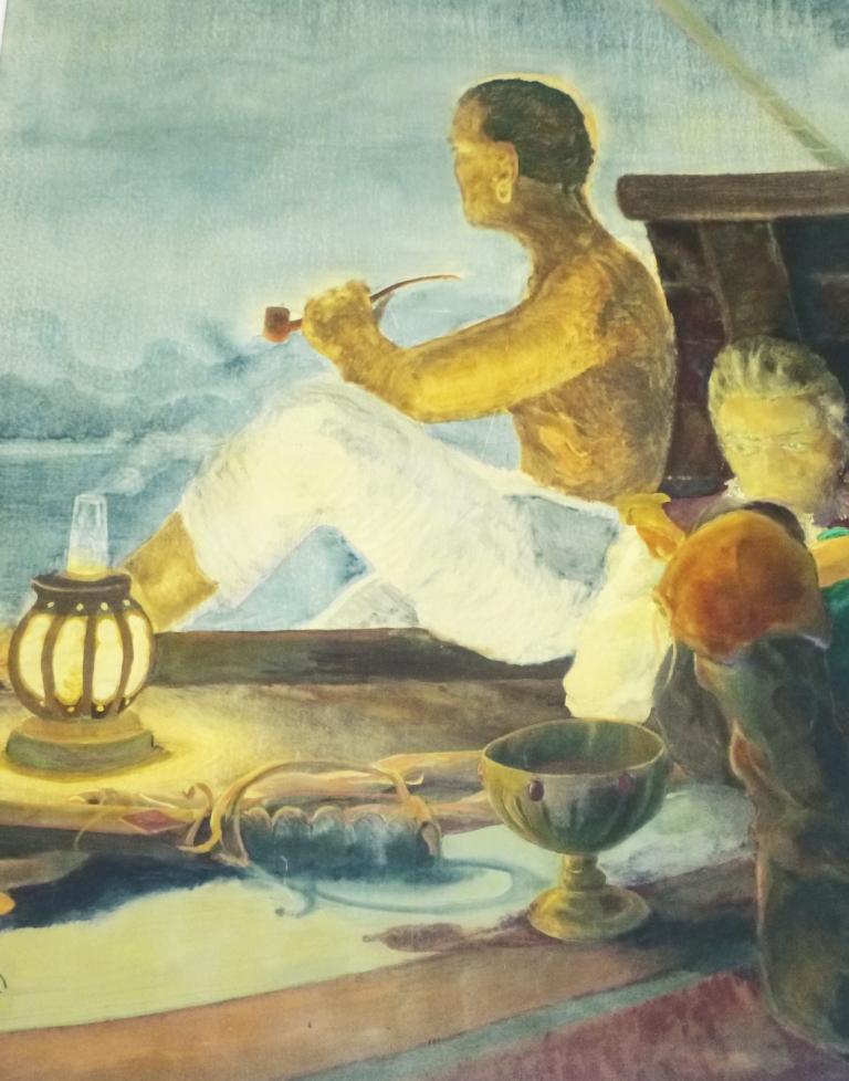 f963296a966fcb On peut alors tout imaginer et se faufiler, presque en intrus, dans le  monde onirique du peintre.