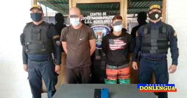 Un par de extorsionistas fueron capturados en Cabimas