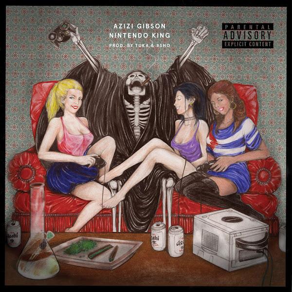 Azizi Gibson - Nintendo King - Single Cover