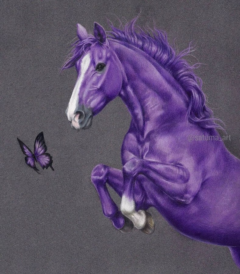 04-Purple-Amethyst-Horse-and-Butterfly-Satu-Manninen-www-designstack-co