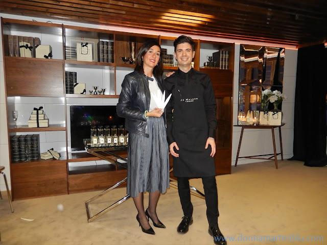 Foto con Marco (embajador de la marca en España y Portugal) al final del evento.