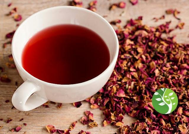 Rosas Tea para Pérdida de peso, combate la inflamación y aumenta la inmunidad
