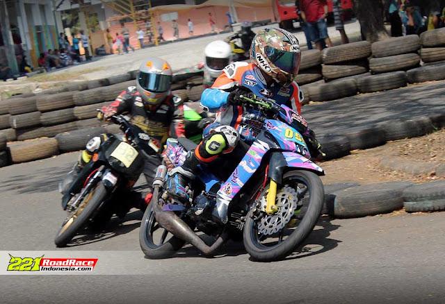 UNDERBONE JATENG PROGRESS, Road Race Purworejo Sukses Jaring 15 Petarung