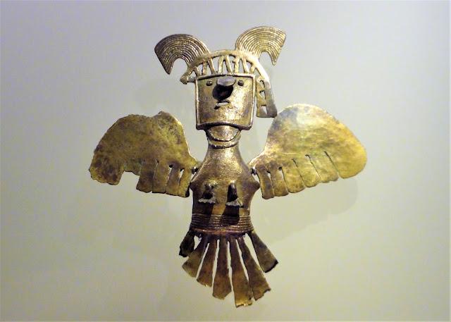 人間と生物たちの組み合わせ(コロンビアの黄金文明時代)