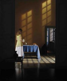 pinturas-de-mujeres-contraste-entre-luces-y-sombras mujeres-pinturas-realista