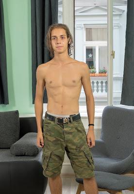 Sexy 19 year old Slovak twink Jake Olsen