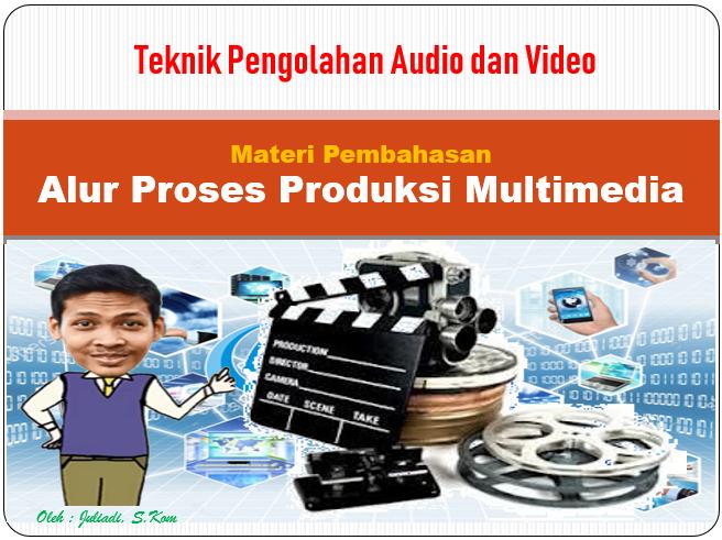 Materi Teknik Pengolahan Audio dan Video - Alur Proses Produksi Multimedia