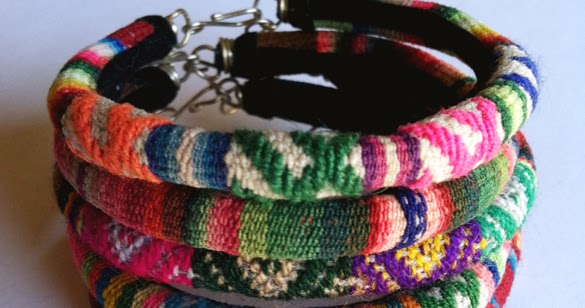 The Forge: Giveaway: Gage Huntley Designs $75 Peruvian Bangles