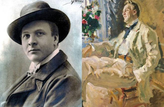 Модели известных художников К.А. Коровин 5