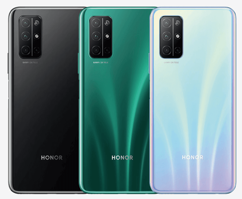 Different colors of HONOR 30S