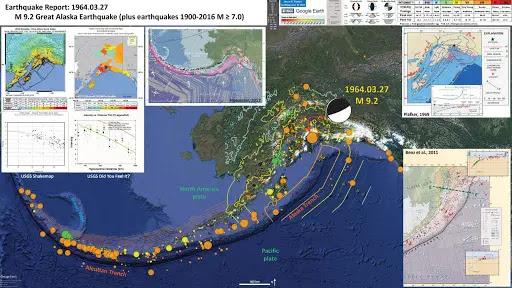 Good Friday Earthquake of 1964 in KodiaK, Alaska