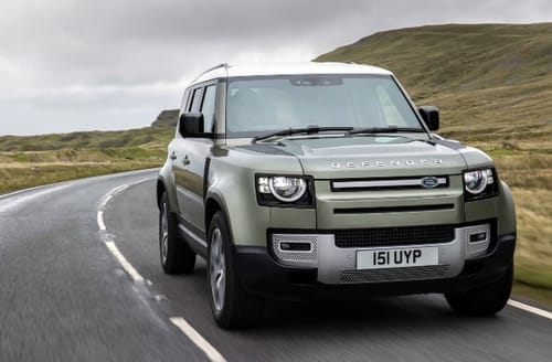 Land Rover is developing electric cars with hydrogen fuel cells
