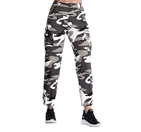 AMAZON - 50%off Women's Camouflage Cargo Pants