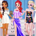لعبة أزياء الأميرات صيف 2021