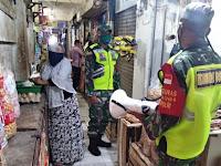 Babinsa Koramil Sumberejo Bojonegoro, Laksanakan Patroli Penegakan PPKM Berbasis Mikro