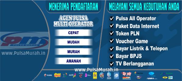 PulsaMurah.in Perusahaan Distributor Pulsa Termurah, Terlengkap dan Terpercaya