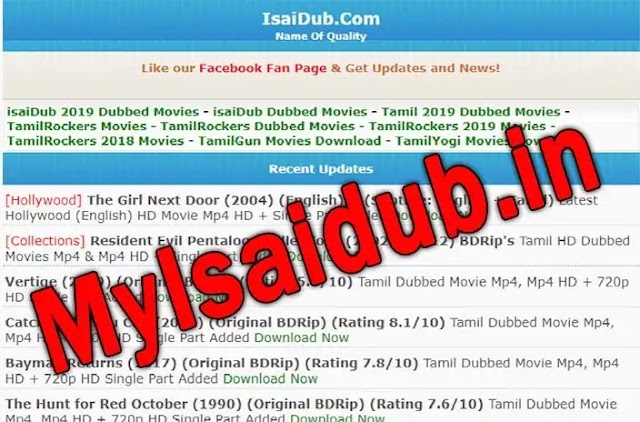 Myisaidub.in 2021 Livie link: illegal Tamil Movies download website | Download Tamil dubbed Movies HD