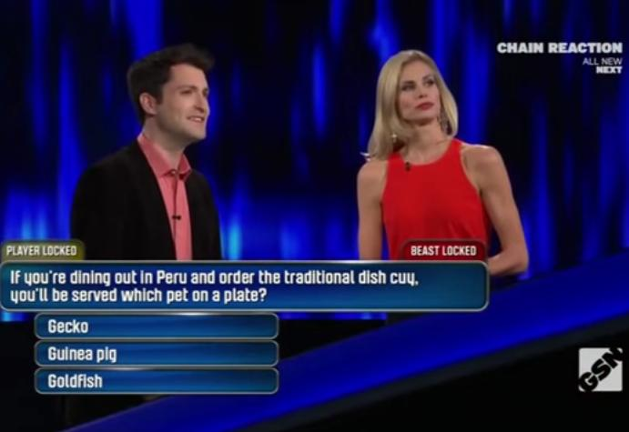 Game show questions