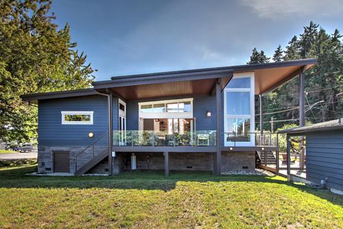White Family Cabin - Rumah 1 Lantai Bergaya Kontemporer