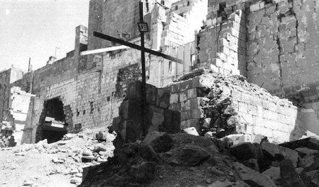 Malta Greek Orthodox church 30 April 1941 worldwartwo.filminspector.com