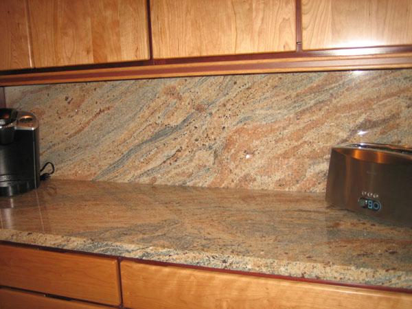 Granite Splashback @ The Kitchen Design on Granite Stove Backsplash  id=44087