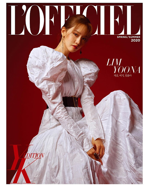 SNSD YoonA L Officiel Magazine