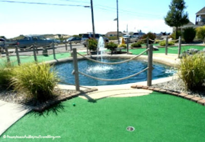 Sunset Beach in Cape May New Jersey - Mini Golf