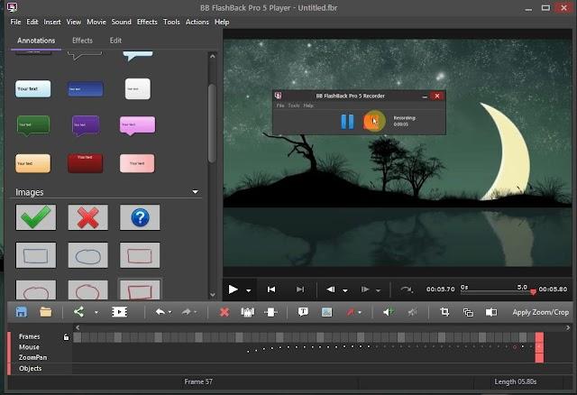 BB FlashBack Pro 5.41.0.4543 - Phần mềm quay màn hình máy tính