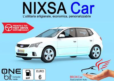 Ti andrebbe di provare la nostra NIXSA CAR?