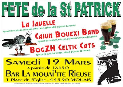 Musique trad bretonne, Cajun et Rock celtique Punk-Folk