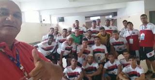 Wilson Nascimento assume destino do Confiança Esporte Clube da cidade de Sapé PB, e vai com clube para São Paulo cumprir agenda esportiva