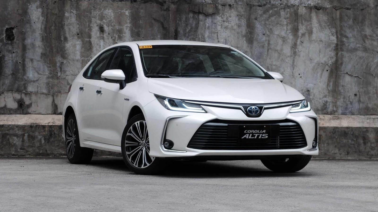 2021 Toyota Altis Model