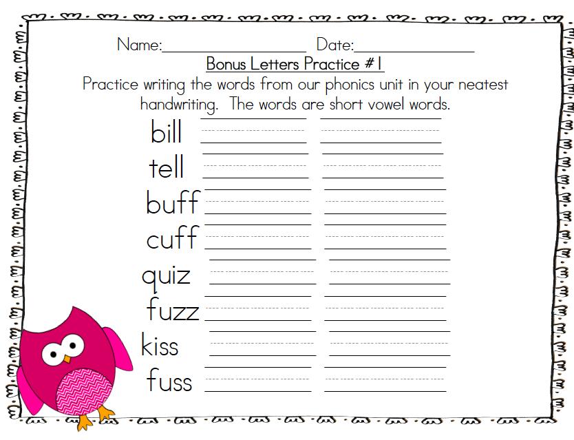 Kindergarten Snowman Writing Template