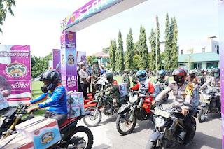 "Wujudkan Sinergitas TNI Polri, Polres Enrekang Mendukung Launching Tagline Pangdam XIV Hasanuddin ""Aku Sahabat Rakyat"""