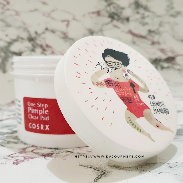 Review Cosrx One Step Pimple Clear Pad