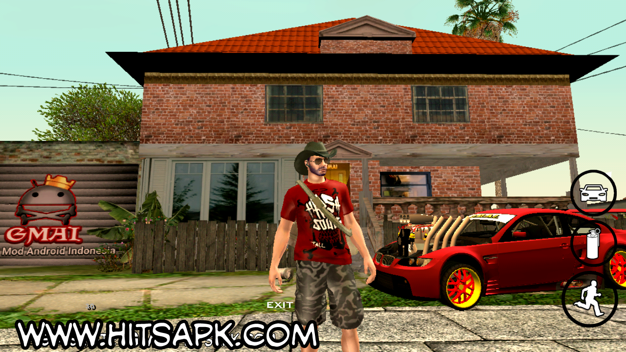 Download GTA SA Lite GMAI APK Suport Nougat