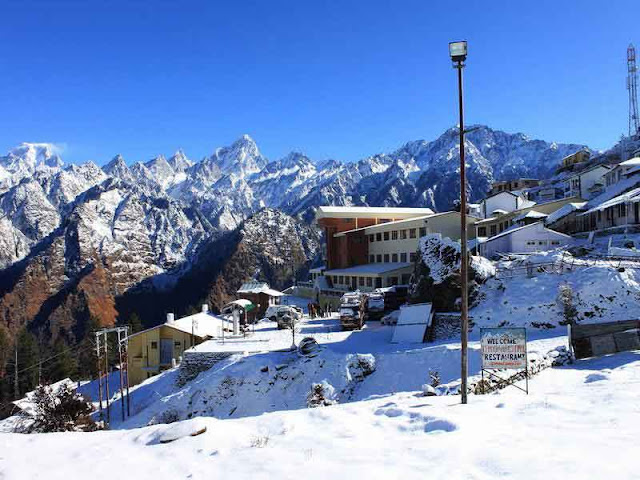 Auli_station_Uttarakhand_India