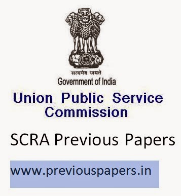 UPSC SCRA Previous papers