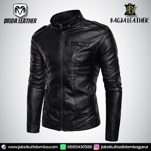 Jual Jaket Kulit Asli Garut Pria Domba Original Brida Leather B59   WA 08813430588