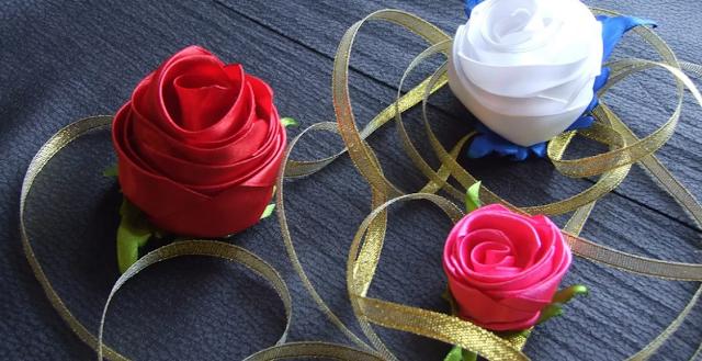 лента роза