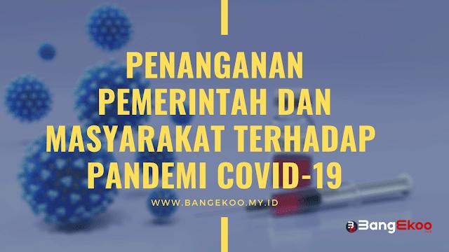 penanganan pandemi covid-19