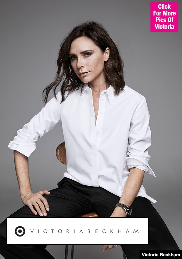 Target Teams Up With Victoria Beckham For New Collaboration That Will Include Plus Sizes