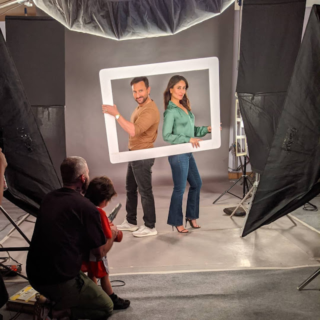 सैफ-करीना के फोटोशूट मस्ती करते दिखे तैमूर