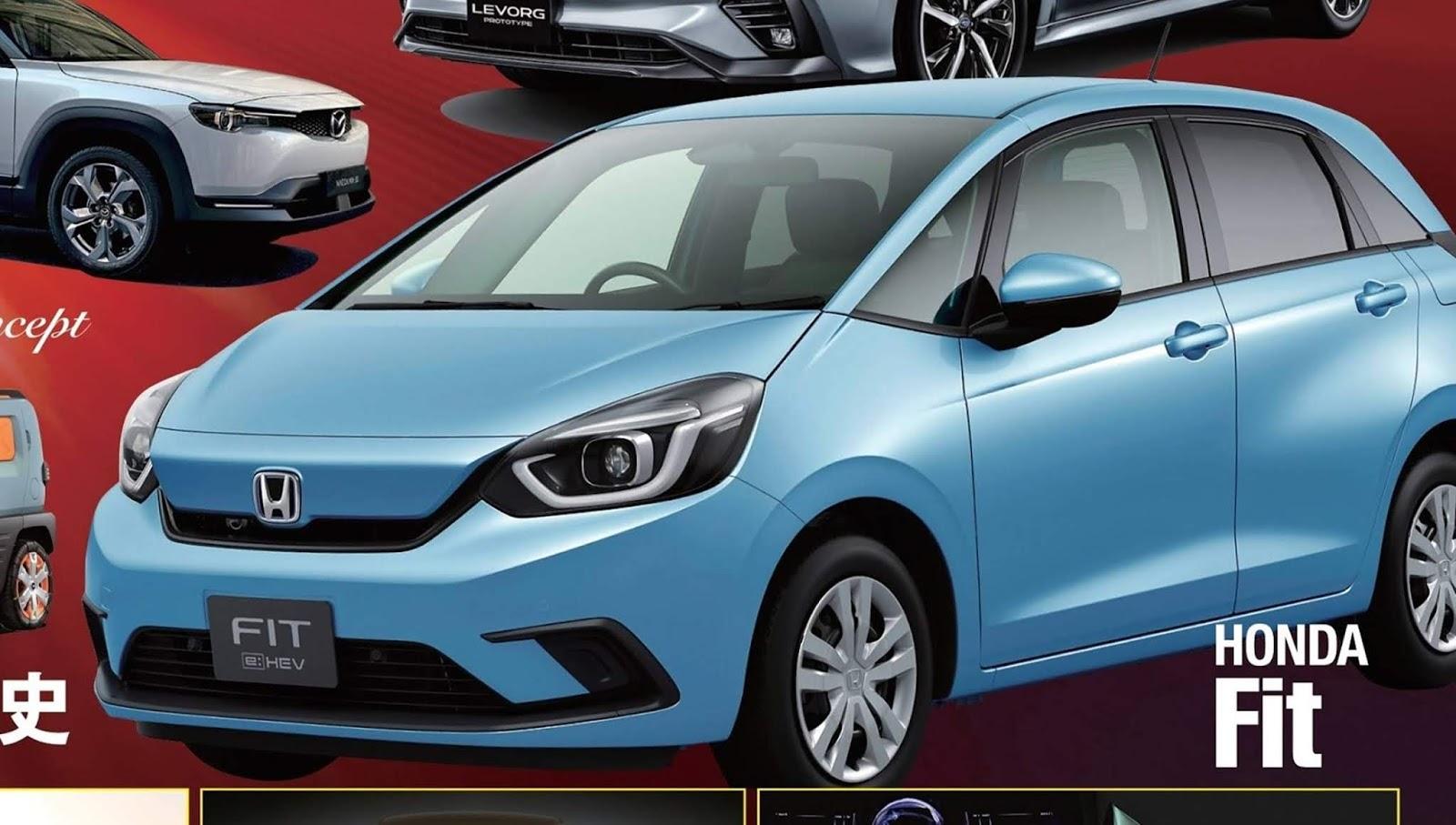Novo Honda Fit Híbrido 2021: fotos extra-oficiais ...