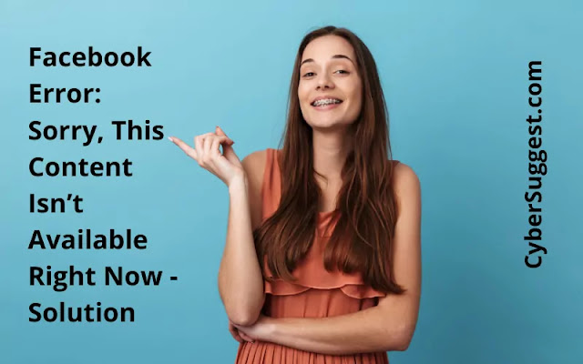 Facebook content is not available