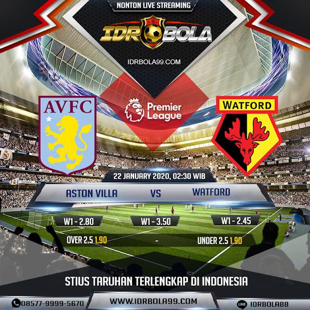 Prediksi Bola Aston Villa vs Watford 22 Januari 2020