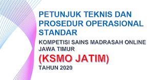 Juknis dan POS Kompetisi Sains Madrasah Online (KSMO) Jawa Timur