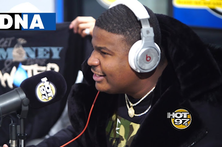 DNA Freestyles On Hot 97 With Funk Flex